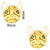 French Bulldog Nail Charm -Gold (2pcs)