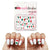 Mexico Waterslide Nail Decals  (Waterslide Nail Decal) - Naildrobe Nail Supplies