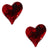 Red Heart Nail Rhinestone (2pcs)