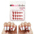 Red Ribbon Bow Holiday Nail Decals (Waterslide Nail Decal) - Naildrobe Nail Supplies