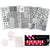 8 Piece Stamping Plate Kit - Naildrobe Nail Supplies