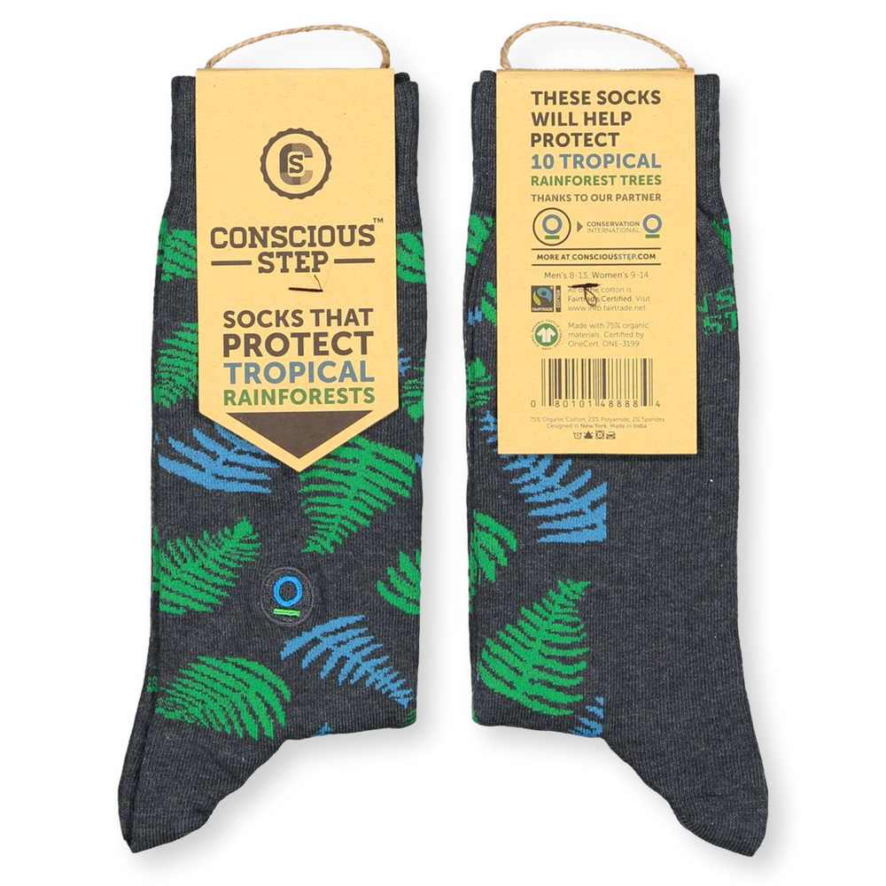 Socks That Protect Rainforests (2 Sizes) - Samana Living