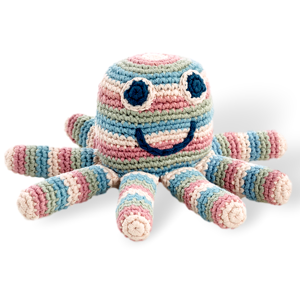 Octopus Rattle - Organic - Samana Living