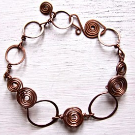 Layered Coil Bracelet - Samana Living