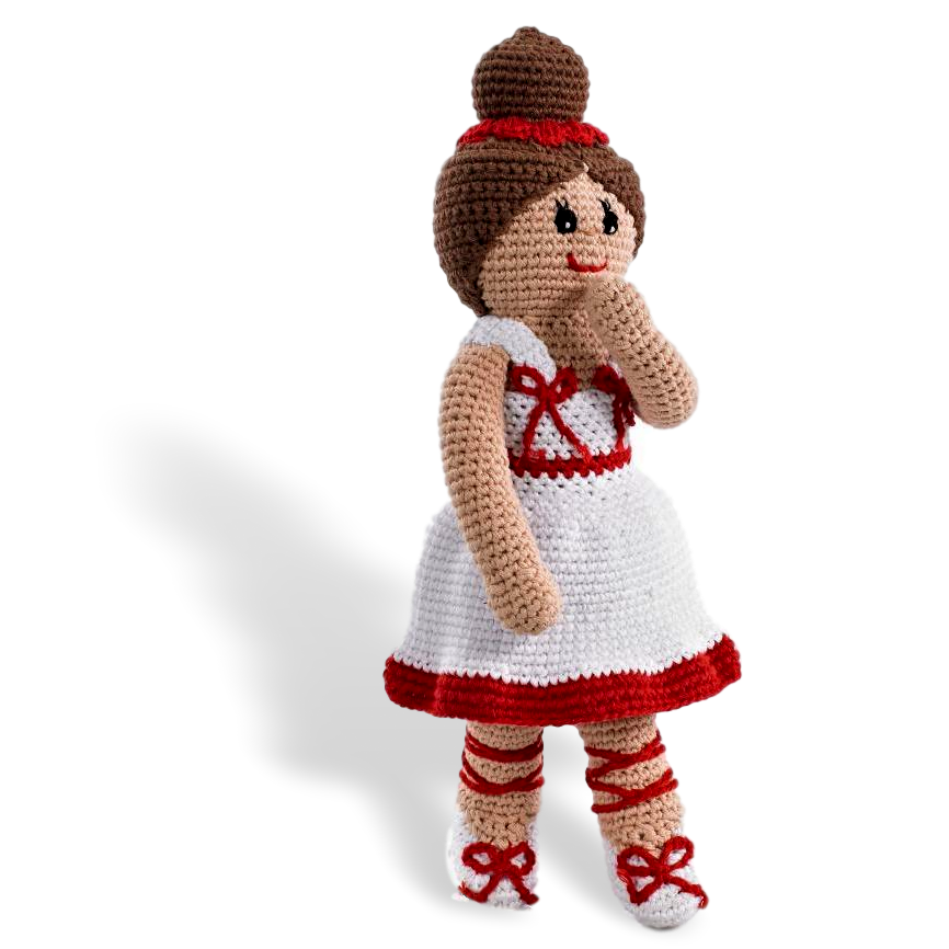 Ballerina Doll  (3 colours) - Samana Living