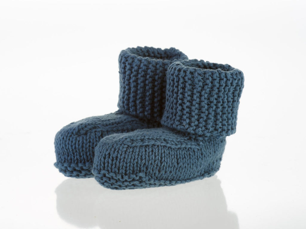 Baby Booties (3 colours)  - Organic