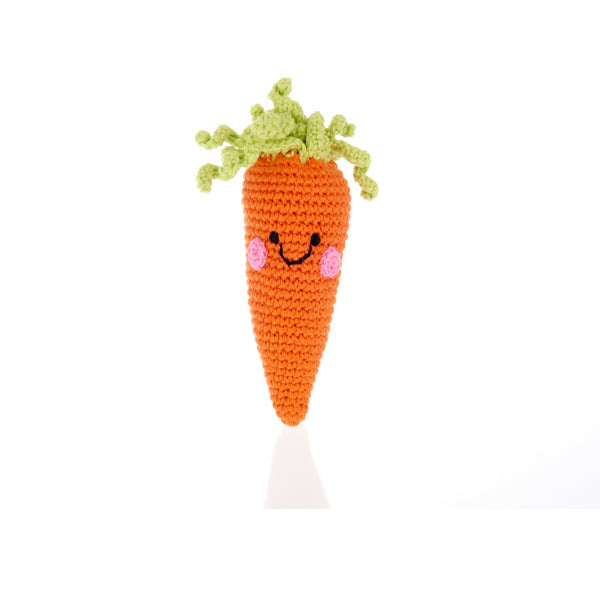 Friendly baby carrot Rattle