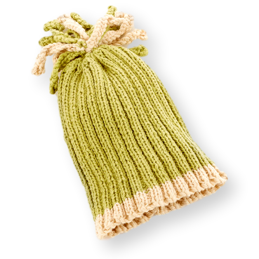 Ribbed Hat - Sage - Samana Living