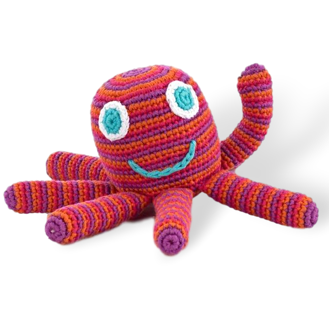 Octopus Rattle ( 5 colours ) - Samana Living