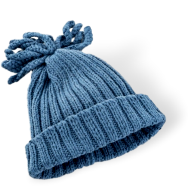 Ribbed Hat - Organic  (4 colours) - Samana Living