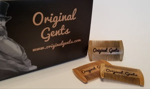 Original Gents Sandalwood Pocket Comb