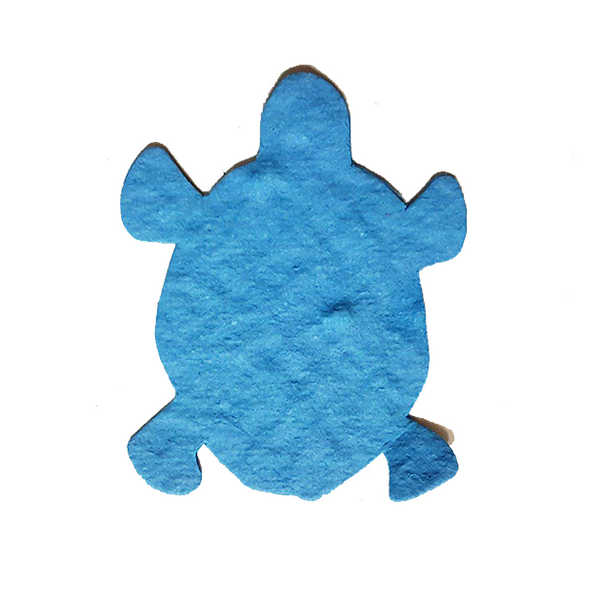 Tree Seed Infused Paper Sea Turtles