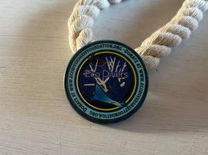 Cayman EcoDivers Reef Foundation Challenge Coin