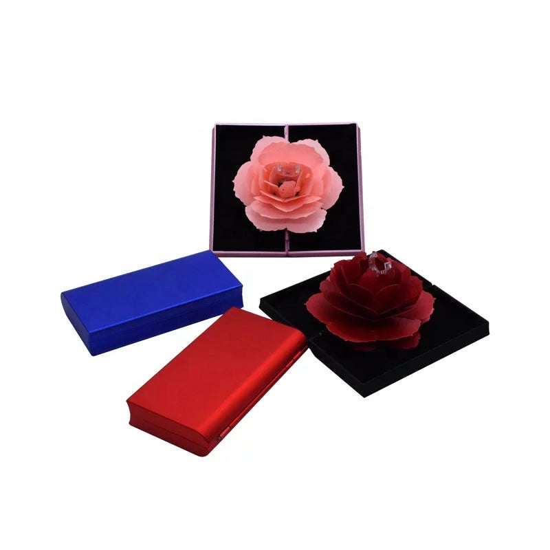 Foldable Flower Ring Box