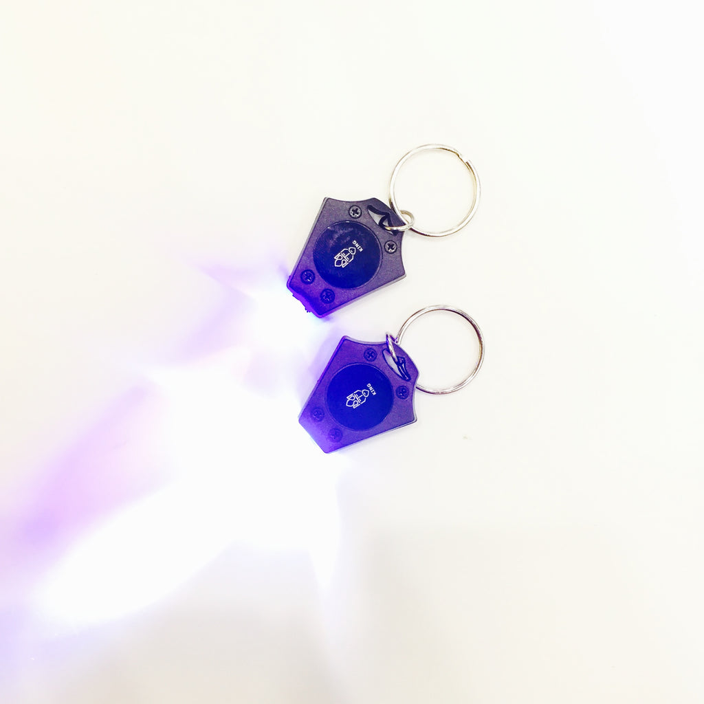 UV + White Light Keychain