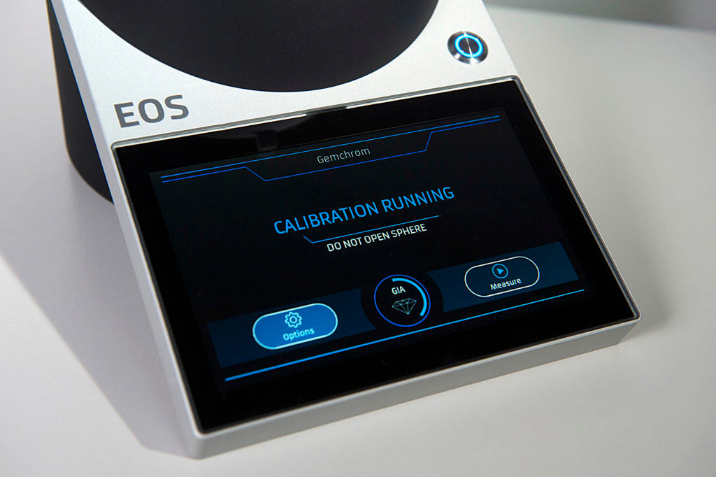 EOS Colorimeter for Polished Diamonds