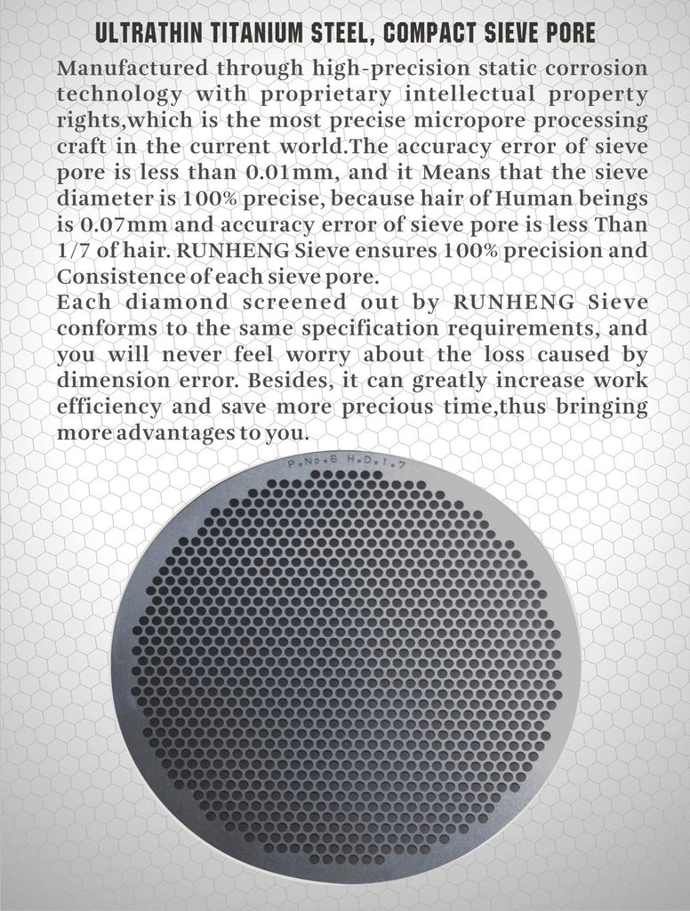 R Enterprises Titanium Sieves