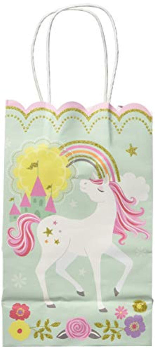 Magical Unicorn Kraft Bags - Pack of 10