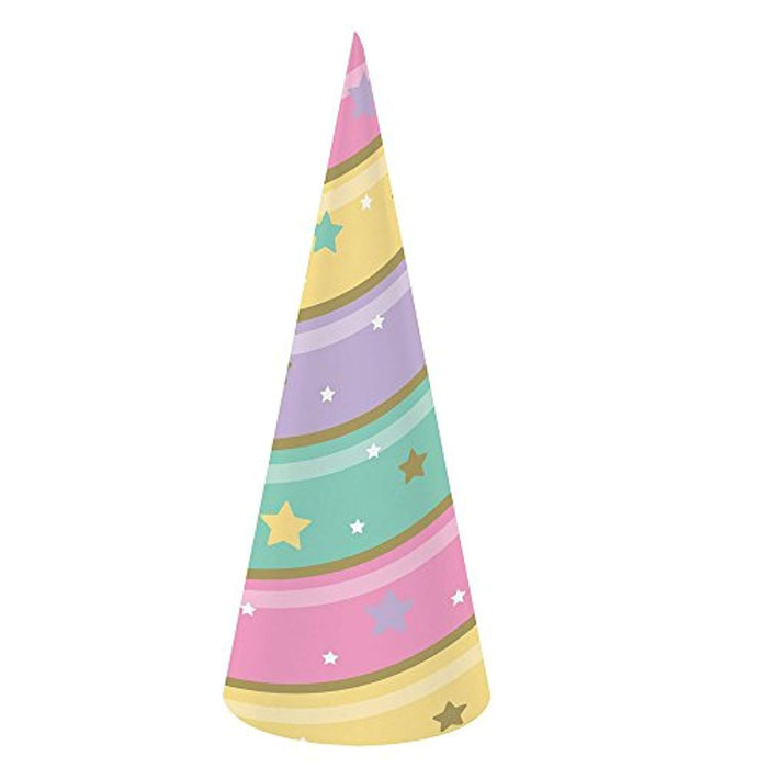 Sparkle Unicorn Horn Hat  - Pack of 8