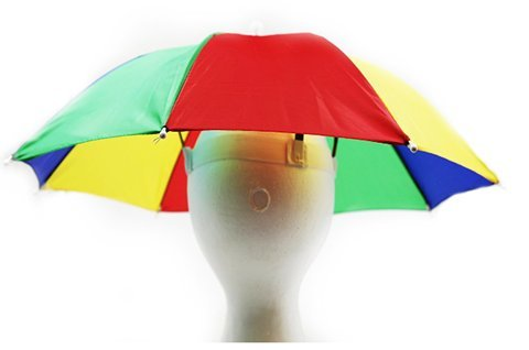 Rainbow Umbrella Cap - Play Kreative TM - PlayKreative.com