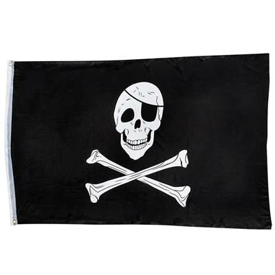 Play Kreative  Pirate Skull Flag - 3x5 Ft - PlayKreative.com