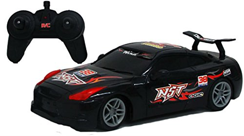 Mini RC Remote Control Car 1:24 Scale Full Function Remote Control With Lights - - PlayKreative.com