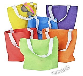 Colorful Canvas Tote Bags - Play Kreative TM - PlayKreative.com