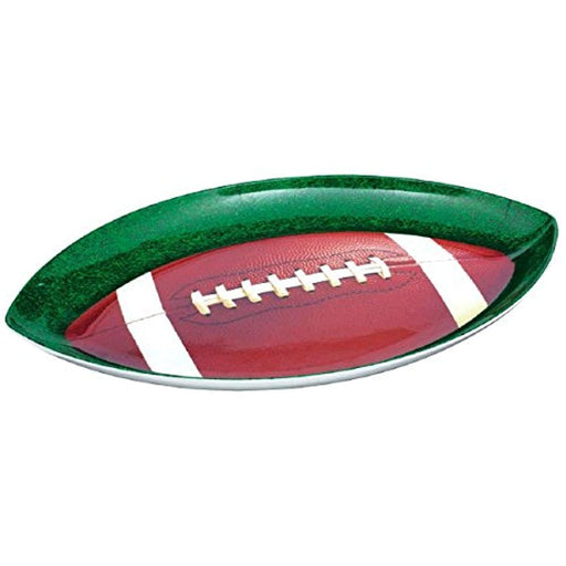 Football Plastic Party Platter Plate