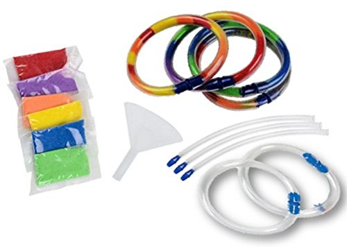Play Kreative Kids Sand Art Craft Bracelets - Includes: 12 Bracelets, 18 Bags of - PlayKreative.com