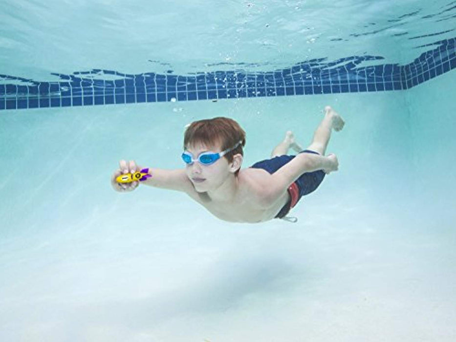 Sinking Torpedo Bandits Pool Diving Toys - Pack of 4