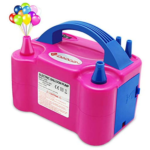 Portable Dual Nozzle Electric Balloon Pump