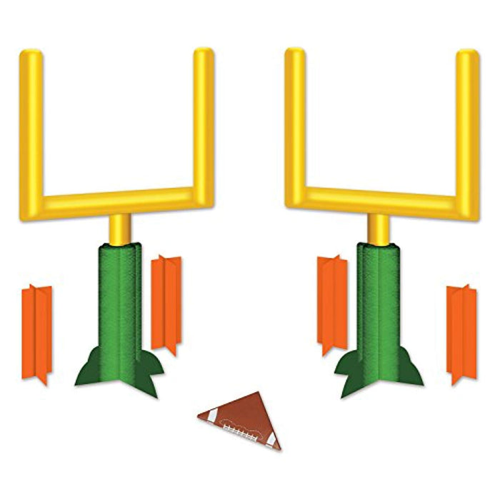 Football Goal Post Centerpieces - Pack of 2