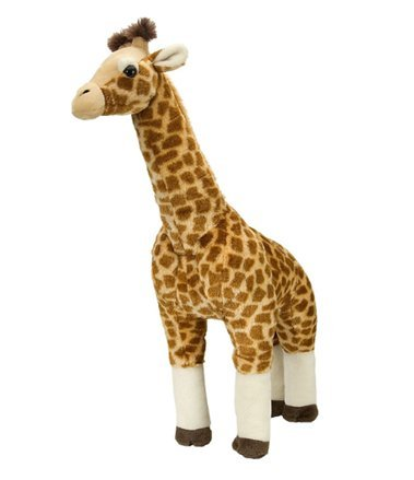Large Standing Plush Giraffe - Lifelike Stuffed Giraffe Animal Toy - Play Kreati - PlayKreative.com