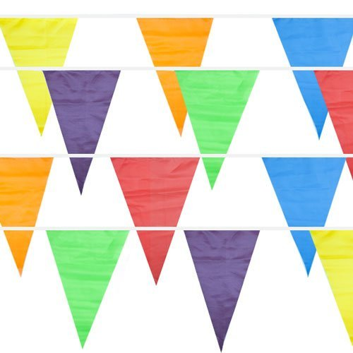 Play Kreative Colorful Pennant Flag Banner - PlayKreative.com