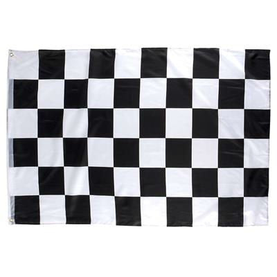 Play Kreative  Black & White Checkered Racing Flag 3x5 Ft - PlayKreative.com