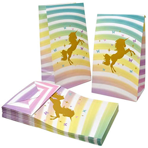 Sparkle Unicorn Favor Bags - Pack of 36