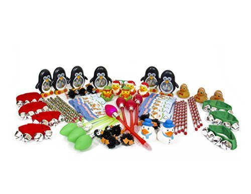 New CHRISTMAS Toys and Novelty assortment (50 pc) Great for stocking stuffer. - PlayKreative.com