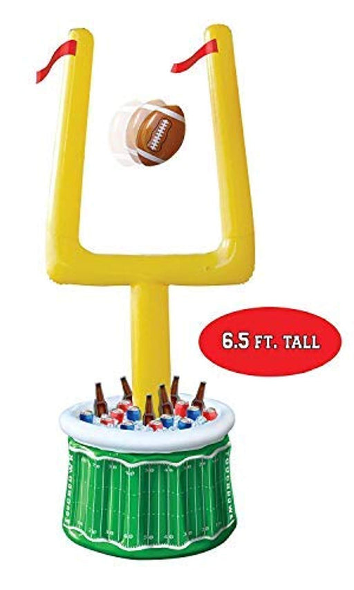 Football Party Inflatable Drink Cooler with Goal Posts and Inflatable Football