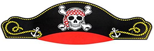 Kids Pirate Captain Hat - 12 pack - Play Kreative TM - PlayKreative.com