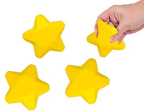 Play Kreative STAR Stress Relief - Star Squeeze and Stretch Toy - PlayKreative.com
