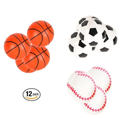 Play Kreative Sports Balls Super Hi Bounce Balls - 12 Pack - PlayKreative.com