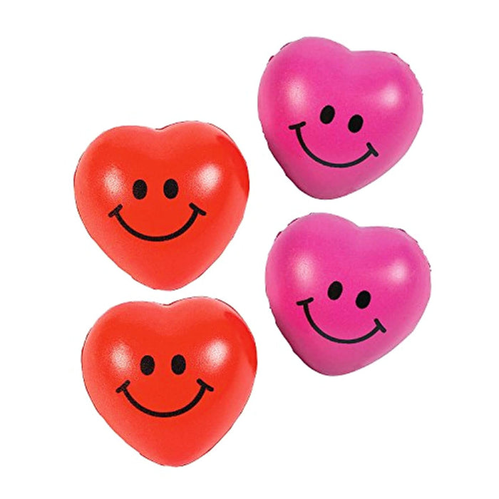 Valentine Mini Heart Stress Balls  - Pack of 36 Pieces