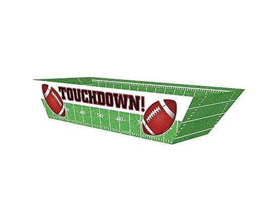 Touchdown Football Paper Hot Dog Trays - Pack of 36