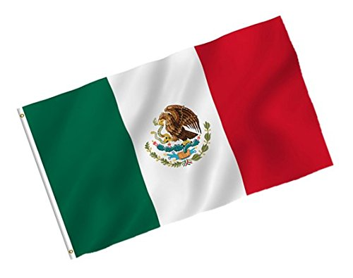 Play Kreative Mexico Mexican Flag - 3x5 Feet - PlayKreative.com