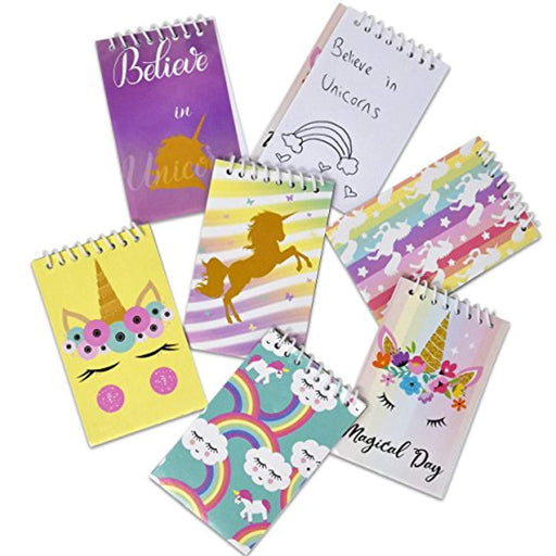 Unicorn Mini Notepads - Pack of 48