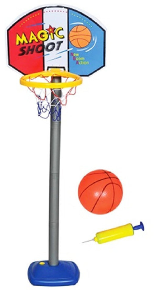 Play Kreative Kids Basketball Game Hoop Set with Inflatable Basketball - PlayKreative.com