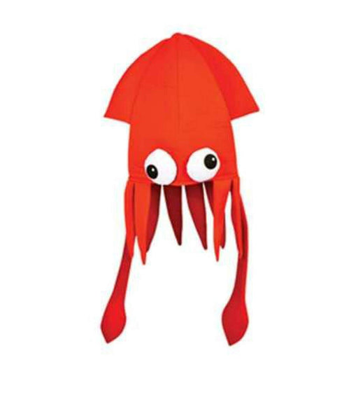 Play Kreative Red Squid Costume Party Hat - PlayKreative.com