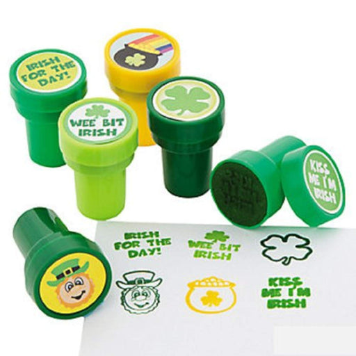 St. Patrick's Day Stampers - Pack of 6