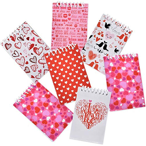 Valentines Day Notepads - 48 Pieces