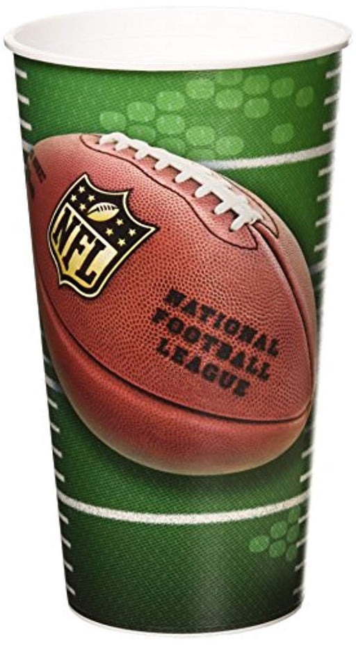 NFL Drive Collection  Football Stadium Cups - Pack of 12